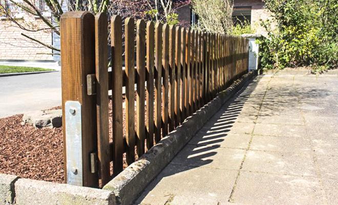 Wir bauen Zäune für Ihren Garten